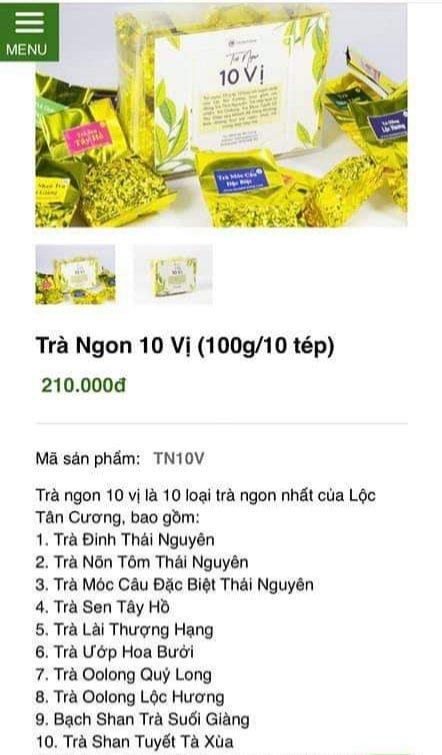 10 loại trà ngon nhất Việt Nam